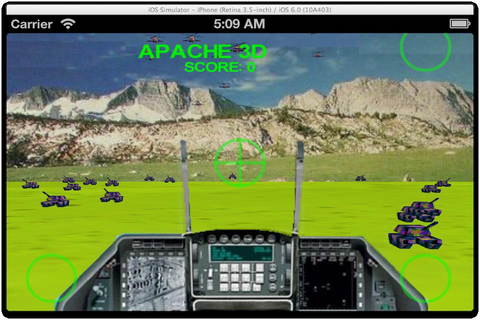 Screenshot Apache Missions 3D