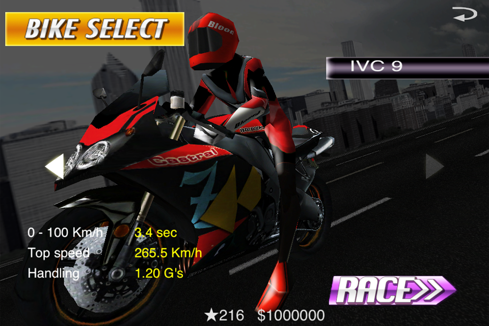 Screenshot StreetBike: Full Blast Lite