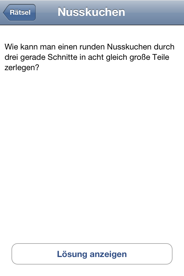 Screenshot Rätsel